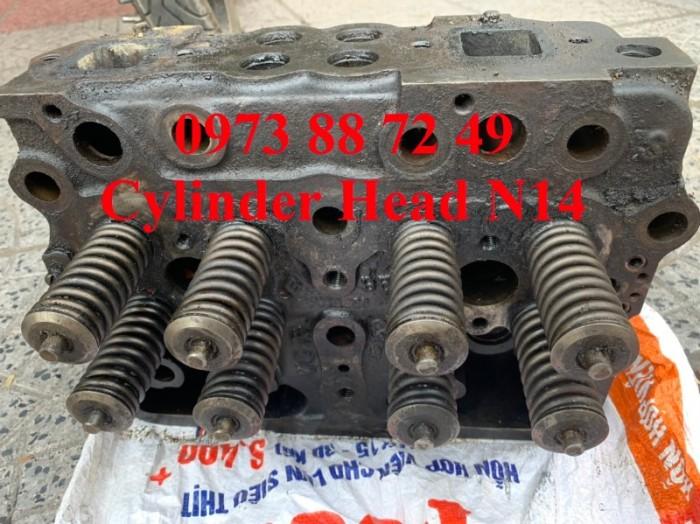 Mặt máy Cummins N14, Cylinder Head N144