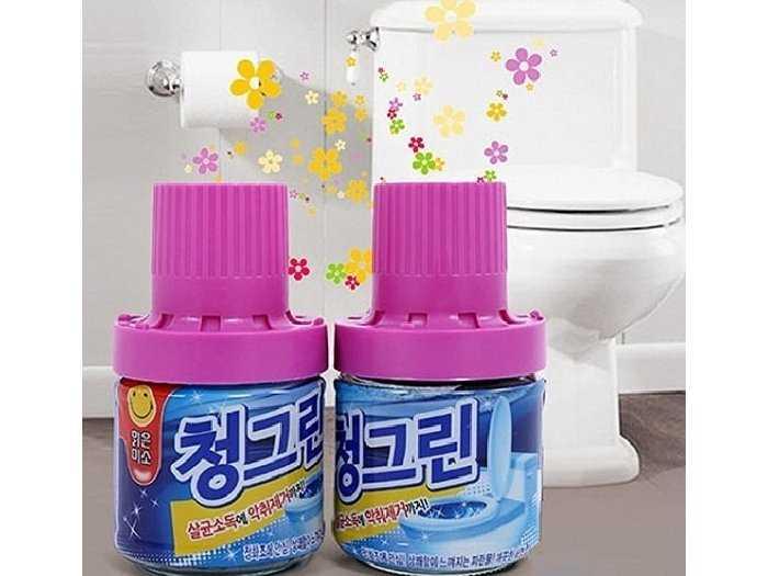 Chai tẩy vệ sinh bồn cầu hương ngàn hoa0