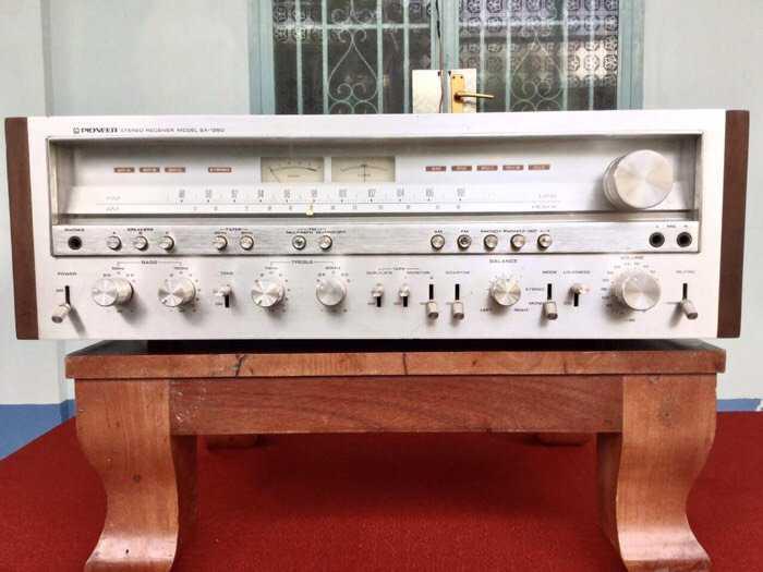 Tân Audio biên hoà PIONEER SX 1250 (Máy đẹp zin nguyên bản)0