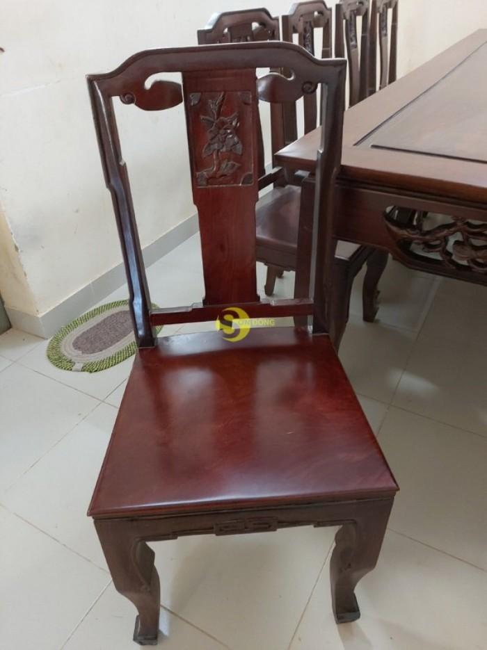 Bộ bàn ăn gỗ cao cấp 10 ghế4