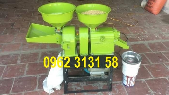 Máy chà xát gạo mini gia đình cam kết không bị hãy nát hạt gạo,sạch trấu luôn1