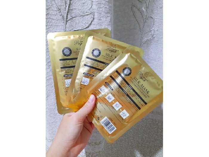 Mặt Nạ Lụa Vàng 24k Goldzan Silk1