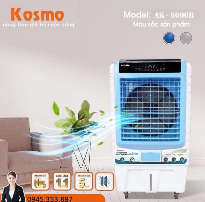 Quạt điều hoà không khí Kosmo KM-AK8000R hàng nhập khẩu Thái Lan0