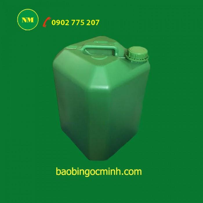 Can nhựa 5 lít, can nhựa hdpe, can nhựa đựng thuốc bảo vệ thực vật. 7