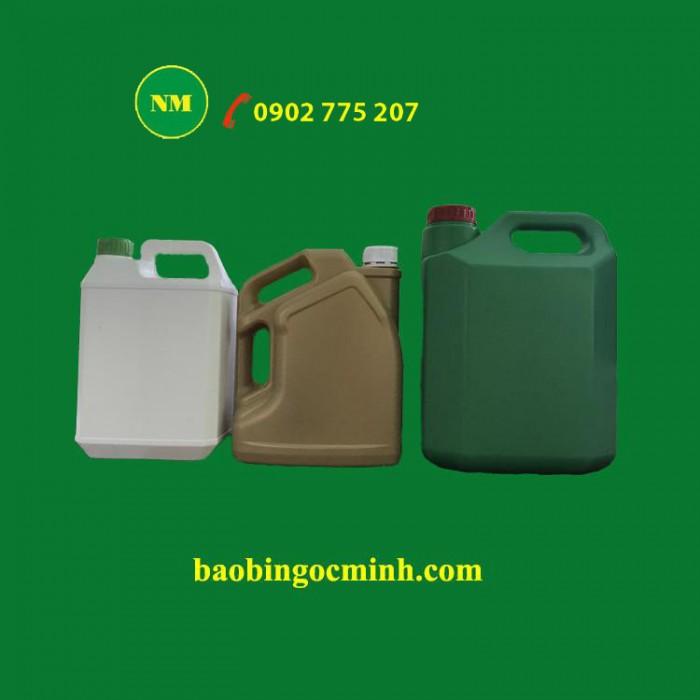 Can nhựa 5 lít, can nhựa hdpe, can nhựa đựng thuốc bảo vệ thực vật. 4