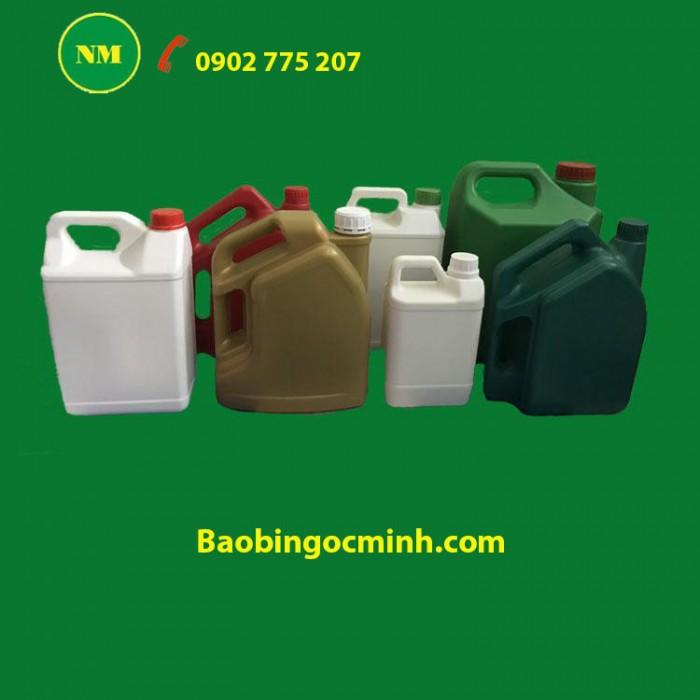 Can nhựa 5 lít, can nhựa hdpe, can nhựa đựng thuốc bảo vệ thực vật. 6