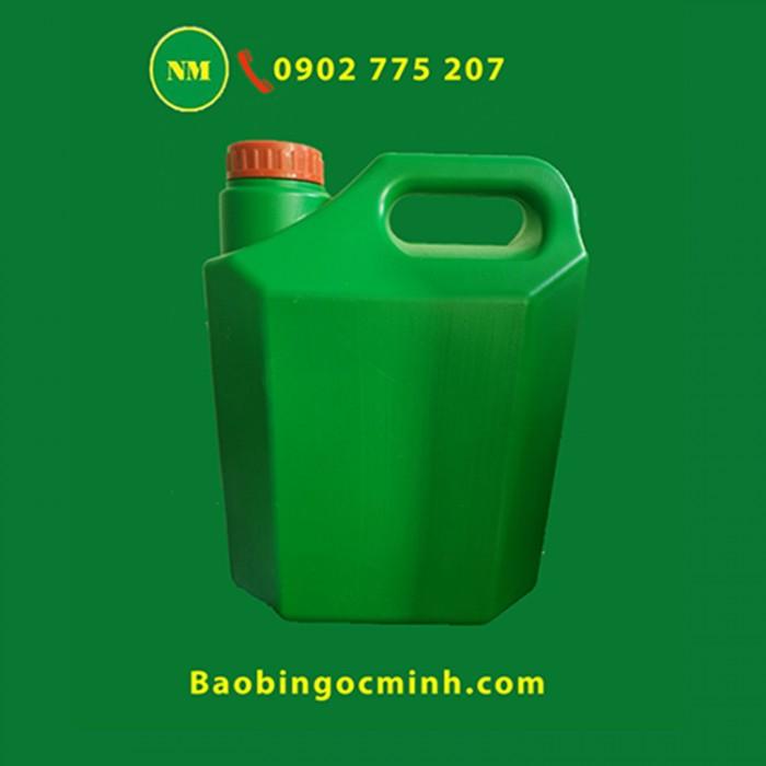 Can nhựa 5 lít, can nhựa hdpe, can nhựa đựng thuốc bảo vệ thực vật. 12