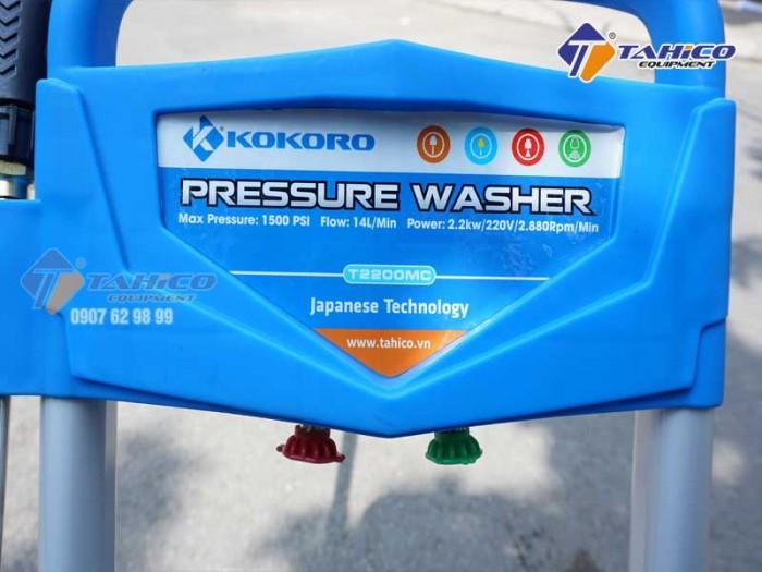 Máy rửa xe cao áp kokoro t2200mc tại trảng bom-đồng nai.2