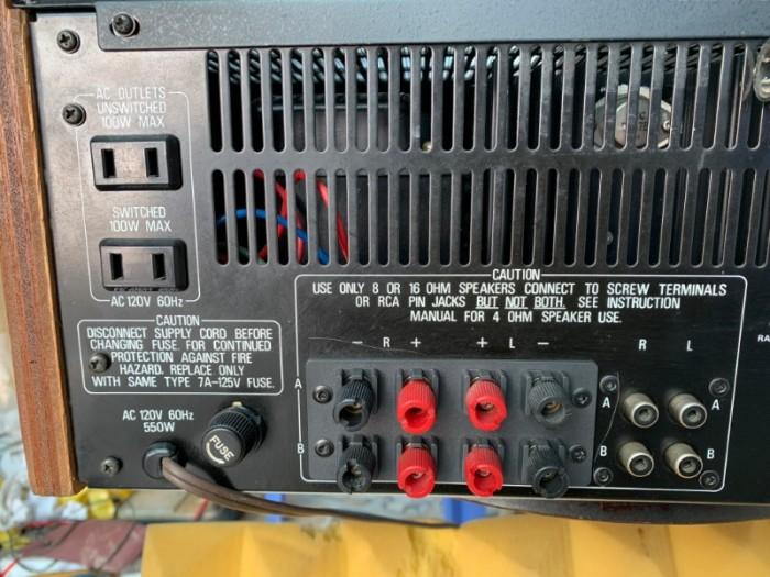 AMPLI REALISTIC STA-2000 JAPAN Xuất mỹ5