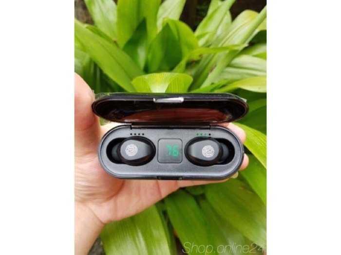 Tai nghe true wireless AMOI F9 | bản QUỐC TẾ | nút cảm ứng| Bluetooth 5.0| Pin 280 giờ| sạc dự phòng 20190