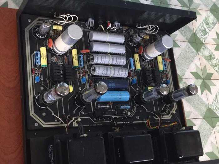 Tân Audio Biên Hoà Amply Đèn PRECISION M7 TUBE (Bán dẫn và Đèn)2