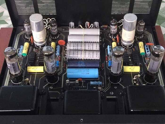 Tân Audio Biên Hoà Amply Đèn PRECISION M7 TUBE (Bán dẫn và Đèn)3