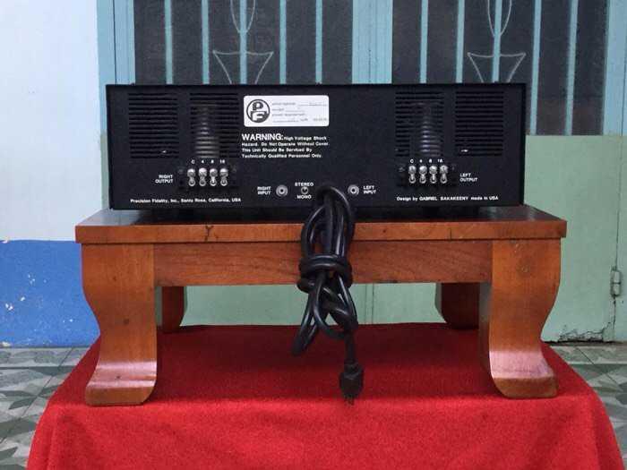 Tân Audio Biên Hoà Amply Đèn PRECISION M7 TUBE (Bán dẫn và Đèn)4