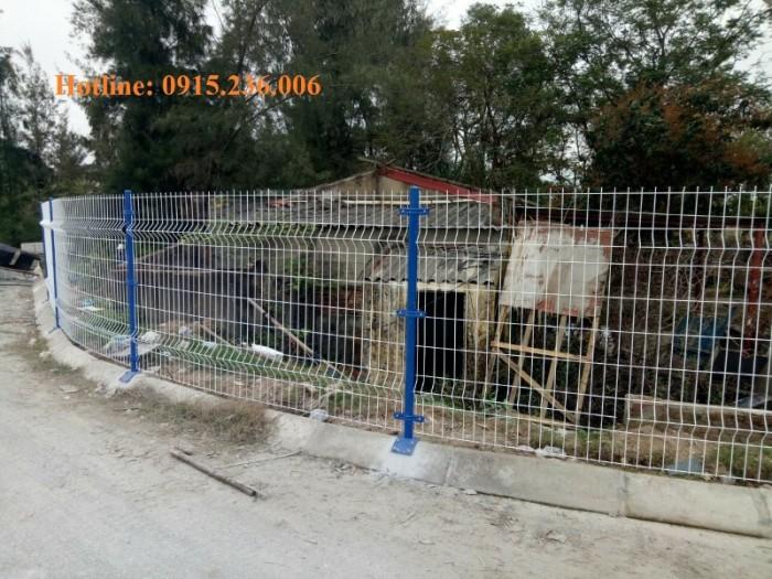 Hàng rào sơn tĩnh điện giá tốt, chất lượng uy tín2