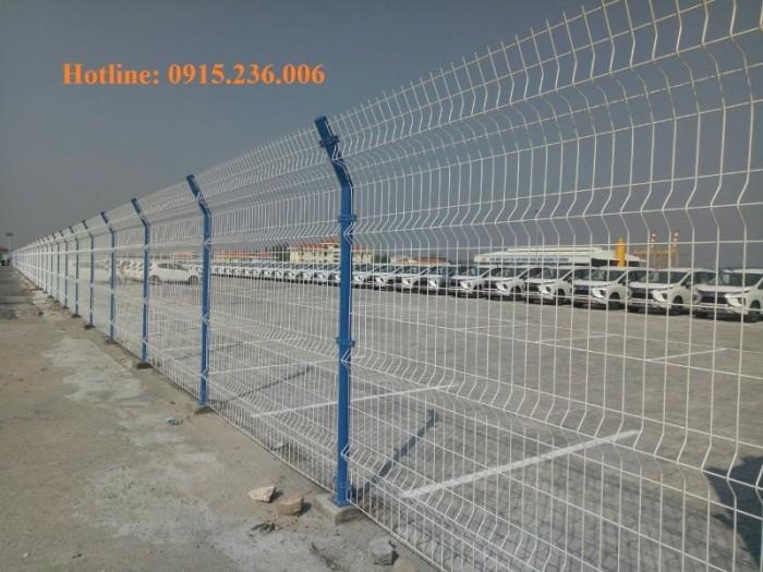 Hàng rào sơn tĩnh điện giá tốt, chất lượng uy tín4