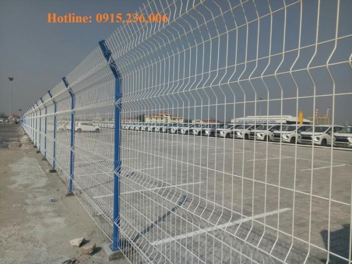 Hàng rào sơn tĩnh điện giá tốt, chất lượng uy tín6
