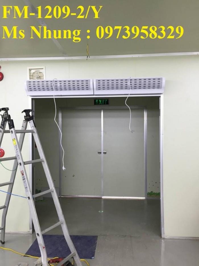 Lắp đặt quạt cắt gió FM-1210X-2/Y , Phân phối toàn quốc , mễm phí giao hàng0