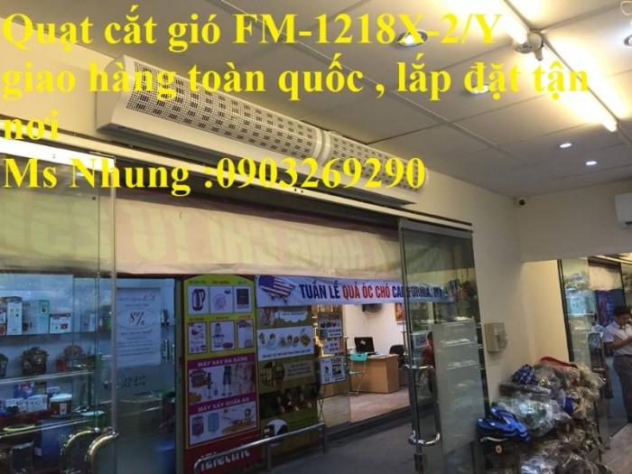 Lắp đặt quạt cắt gió FM-1210X-2/Y , Phân phối toàn quốc , mễm phí giao hàng3