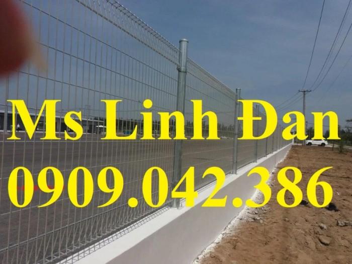 Lưới thép hàng rào gập tam giác 2 đầu mạ kẽm, hàng rào sơn tĩnh điện,0