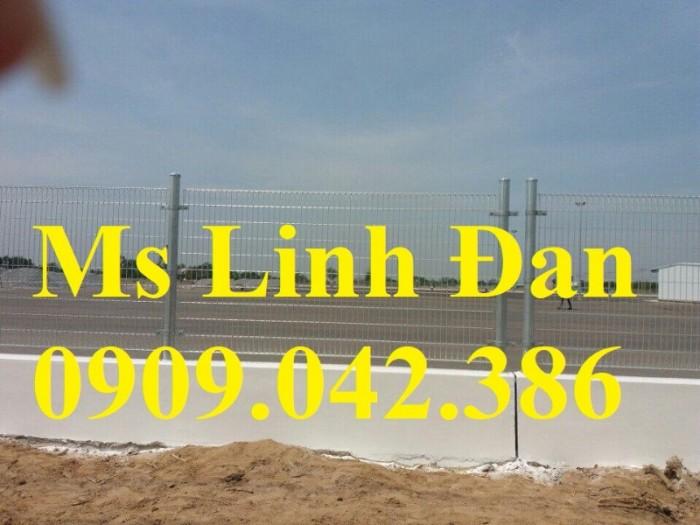 Lưới thép hàng rào gập tam giác 2 đầu mạ kẽm, hàng rào sơn tĩnh điện,2