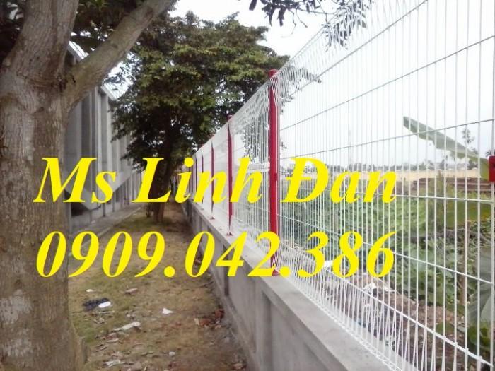 Lưới thép hàng rào gập tam giác 2 đầu mạ kẽm, hàng rào sơn tĩnh điện,7