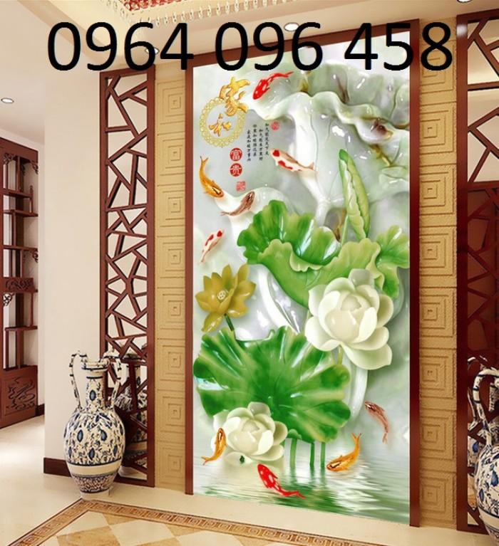 Gạch tranh dán tường 3d sứ ngọc - 45S4