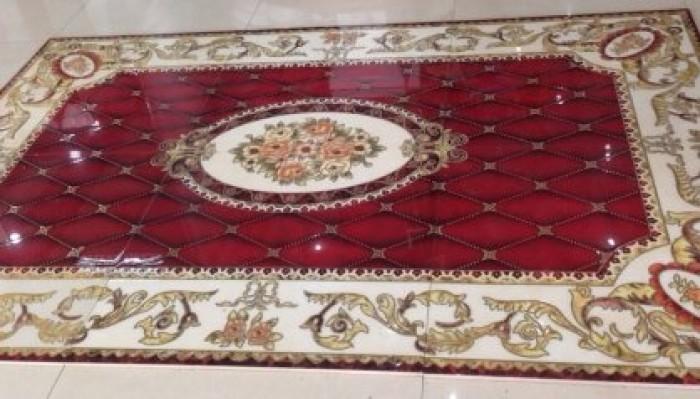 Gạch thảm 3d trang trí phòng khách - 67Y0