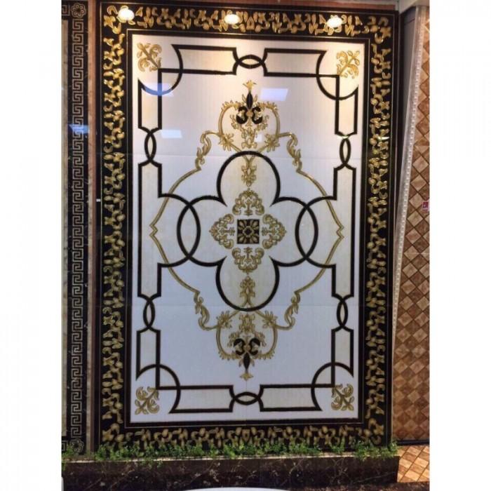 Gạch thảm 3d trang trí phòng khách - 67Y3