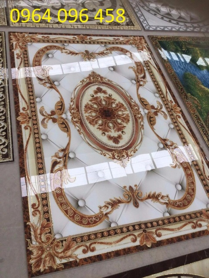 Gạch thảm 3d trang trí phòng khách - 67Y6