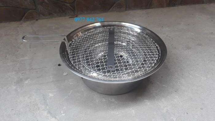 Bếp lẩu nướng than hoa chất liệu inox cao cấp đặt âm bàn0