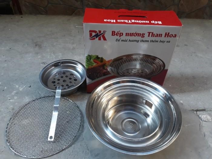 Bếp lẩu nướng than hoa chất liệu inox cao cấp đặt âm bàn2