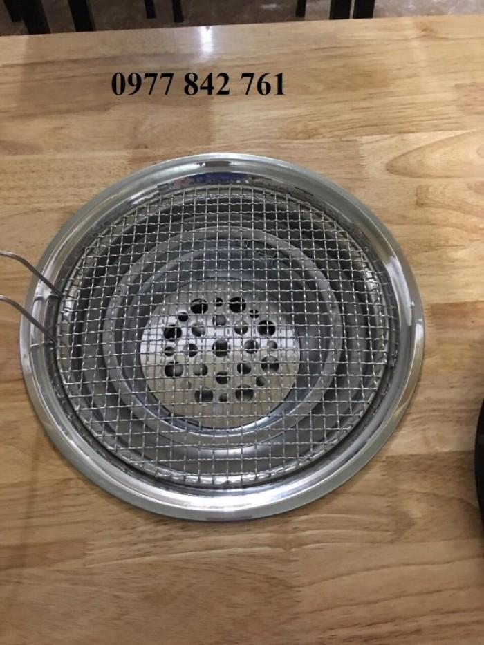 Bếp lẩu nướng than hoa chất liệu inox cao cấp đặt âm bàn5