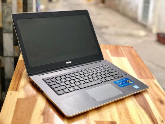 Laptop Dell Vostro V5459 màu gold, i5 6200U SSD128-500G Vga 930M Đèn phím Đẹp0