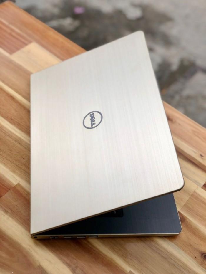 Laptop Dell Vostro V5459 màu gold, i5 6200U SSD128-500G Vga 930M Đèn phím Đẹp4