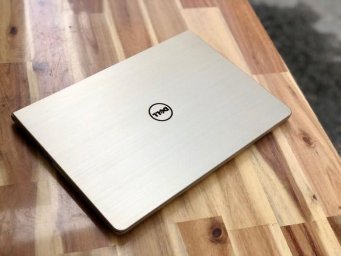 Laptop Dell Vostro V5459 màu gold, i5 6200U SSD128-500G Vga 930M Đèn phím Đẹp3
