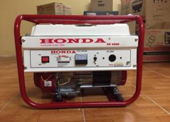 Nhà phân phối máy phát điện Honda SH4500 3kw dùng cho gia đình1