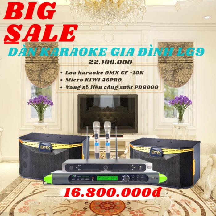 Ảnh chi tiết dàn karaokr gia đình giá rẻ LG90
