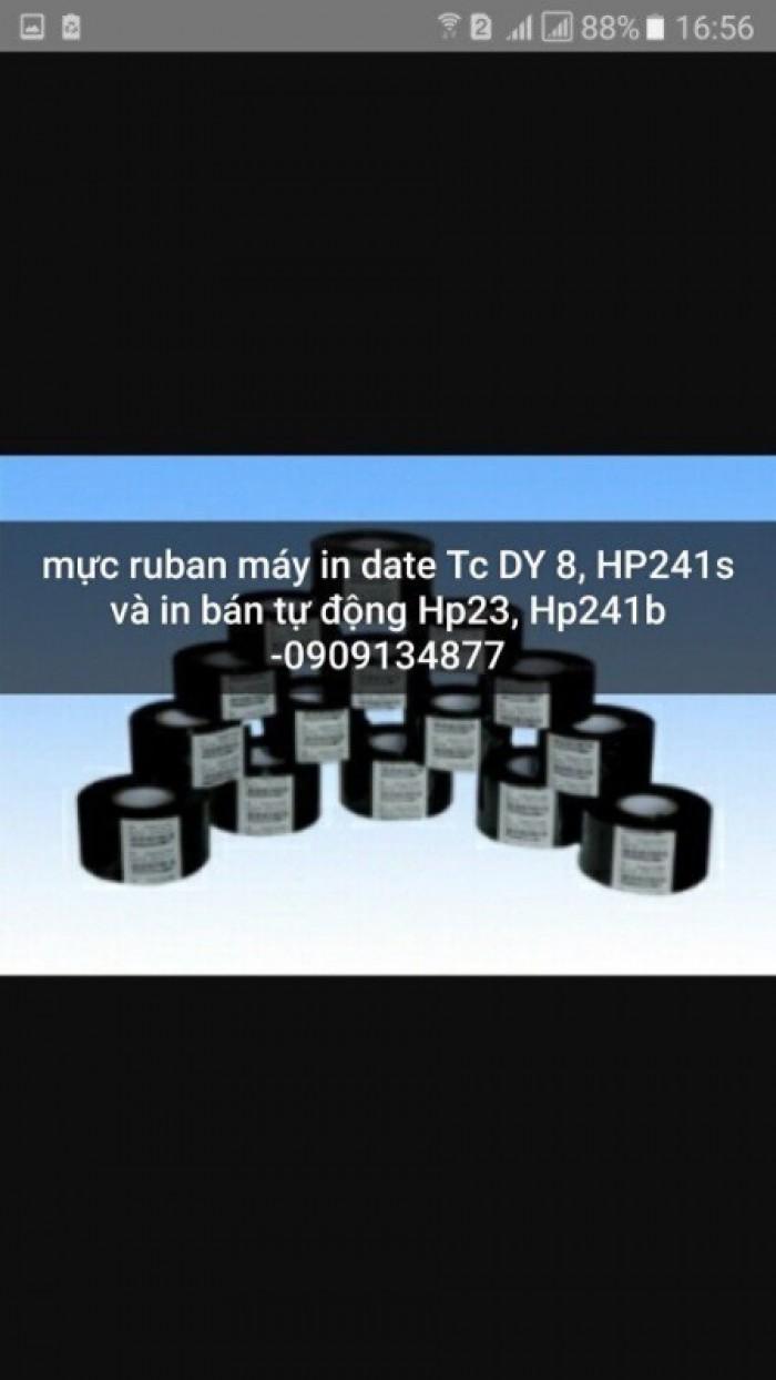 Mực đóng date, mực ruban máy in date, mực in date của máy in date DY80