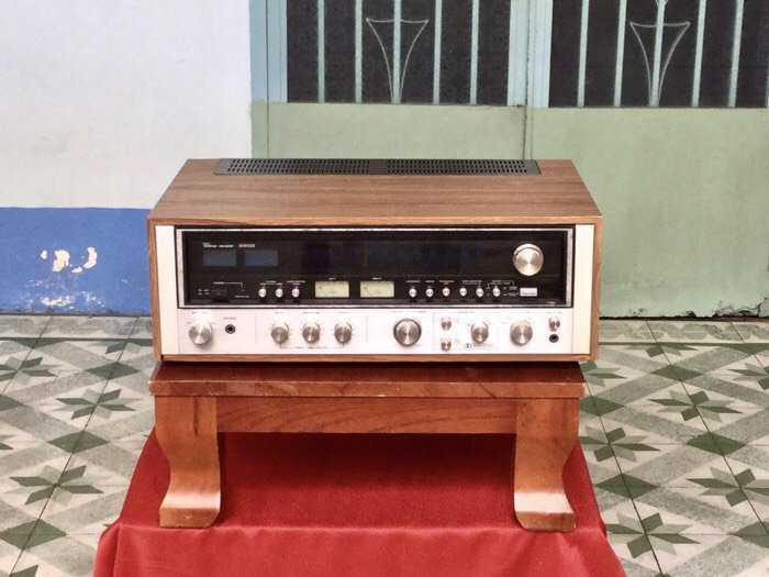 Tân Audio Biên Hoà Amply Sansui 8080DB (Hàng đẹp XS, sắt si vàng)0
