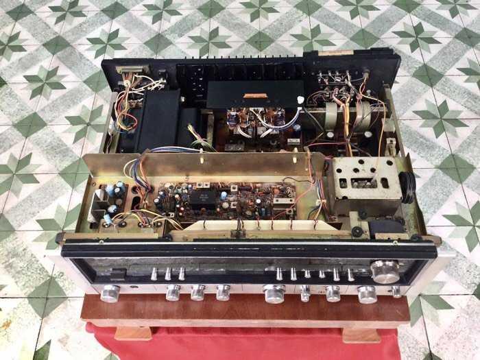 Tân Audio Biên Hoà Amply Sansui 8080DB (Hàng đẹp XS, sắt si vàng)2