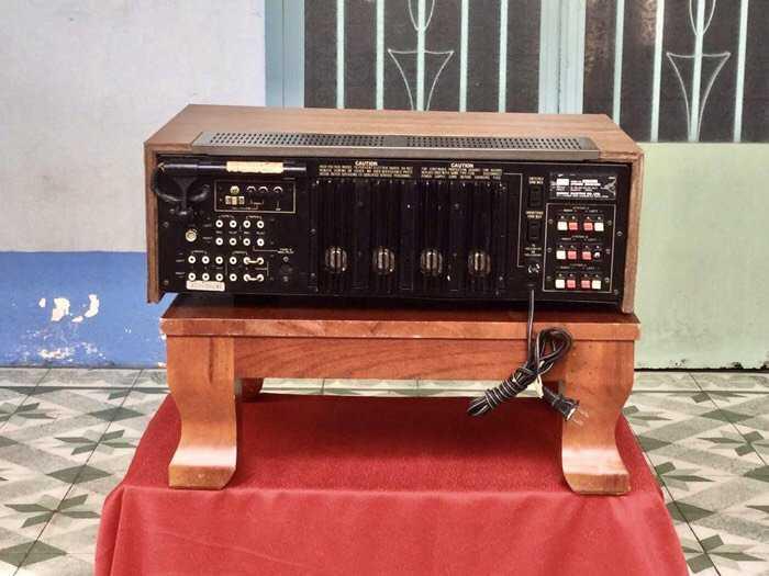 Tân Audio Biên Hoà Amply Sansui 8080DB (Hàng đẹp XS, sắt si vàng)4