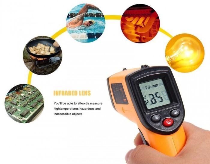 Súng đo nhiệt độ hồng ngoại GM320