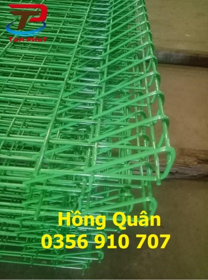 Hàng rào lưới thép hàn, hàng rào mạ kẽm dây 5ly mắt 50*200 giá tốt2