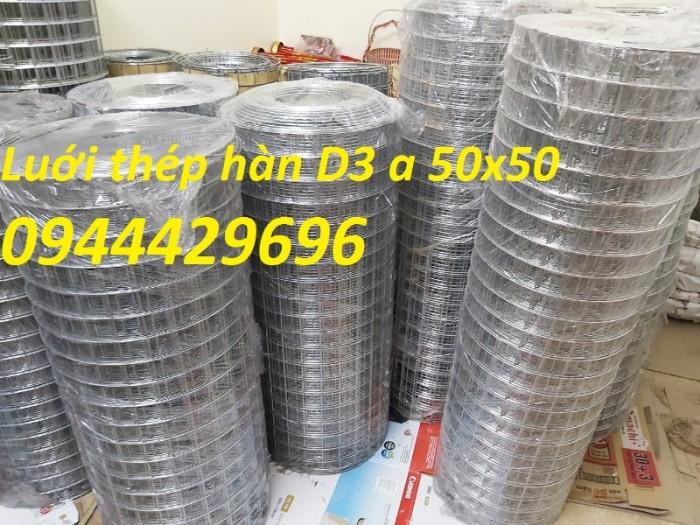 Lưới Thép Hàn D3 A 50X50 khổ 1m, 1.2m, 1.5m hàng sẵn kho.0