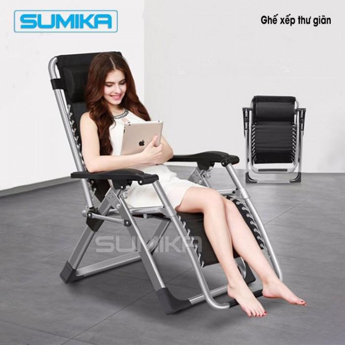 Ghế thư giãn SUMIKA 179 giá ữu đai hậu COVID 990k0