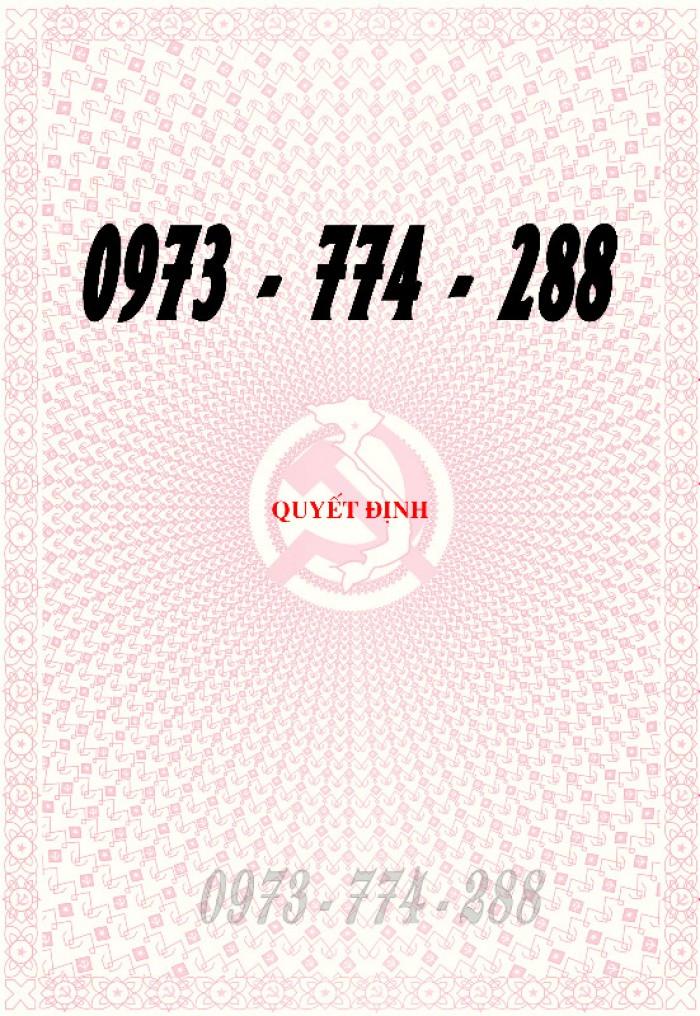Xưởng in lý lịch của người xin vào Đảng (mẫu 2-KNĐ) và lý lịch Đảng viên mẫu (1-HSĐV)27