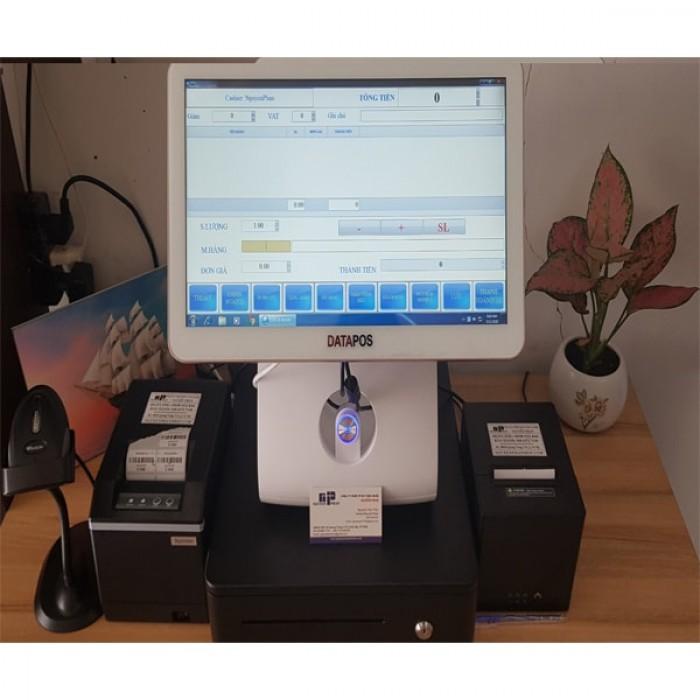 Full bộ máy tính tiền cảm ứng POS cho mô hình Shop0