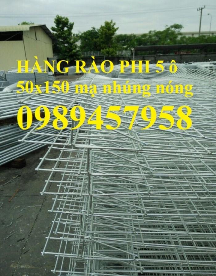 Hàng rào mạ kẽm nhúng nóng tại Hà Nội0