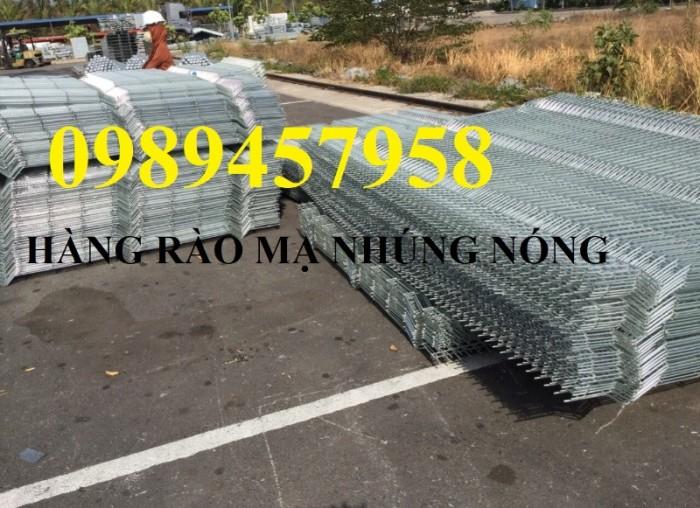 Hàng rào mạ kẽm nhúng nóng tại Hà Nội3
