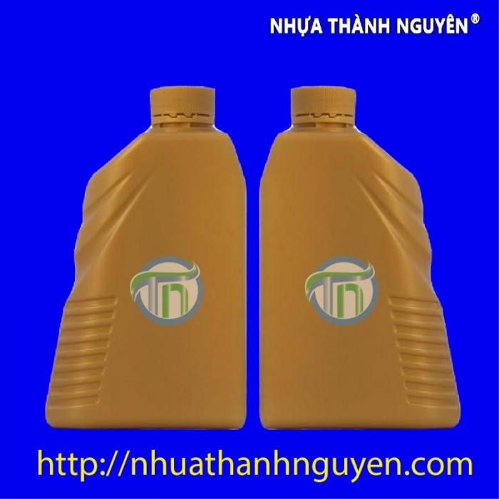 Chai đựng dầu nhớt 1 lít0